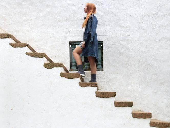 karrier lépcső