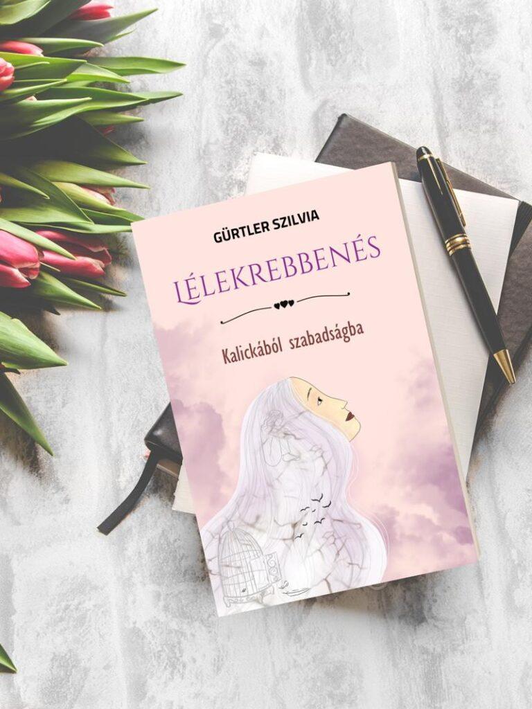 lélekrebbenés könyv virággal