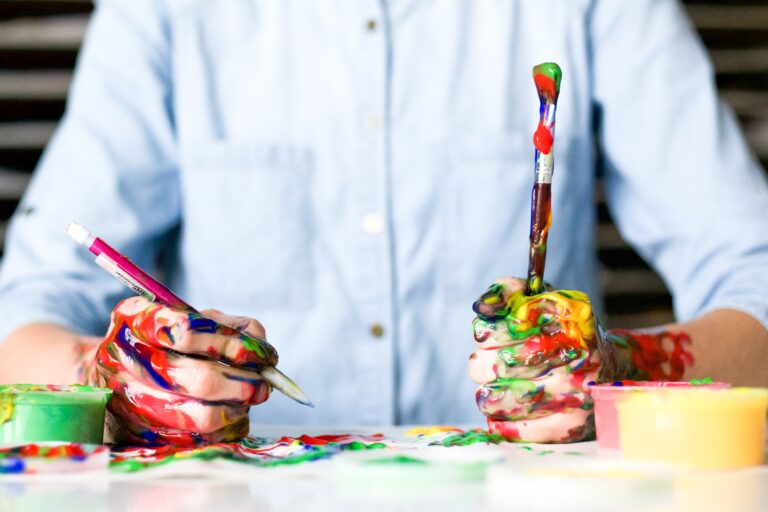 kreatív ember